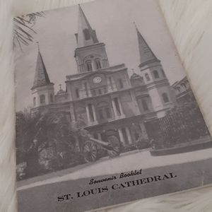 Vintage magazine of the St. Louis Cathedra 1947